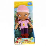 "Jake and the Neverland Pirates 10"" Plush Izzy"